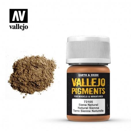 Vallejo 73105 Pigment 105 Natural Siena 35ml