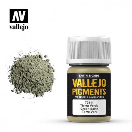 Vallejo 73111 Pigment 111 Green Earth 35ml