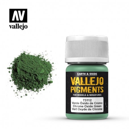 Vallejo 73112 Pigment 112 Chrome Oxide Green 35ml