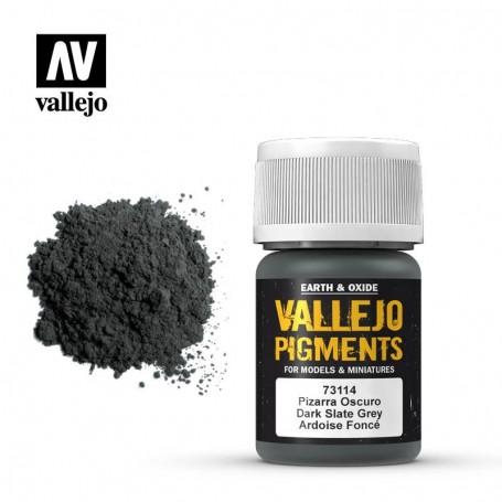 Vallejo 73114 Pigment 114 Dark Slate Grey 35ml