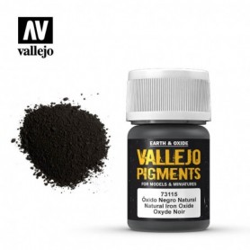 Vallejo 73115 Pigment 115 Natural Iron Oxide 35ml