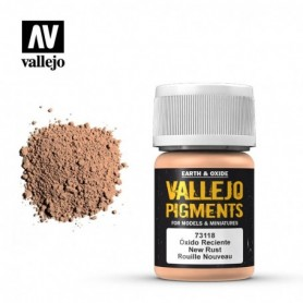 Vallejo 73118 Pigment 118 Fresh Rust 35ml