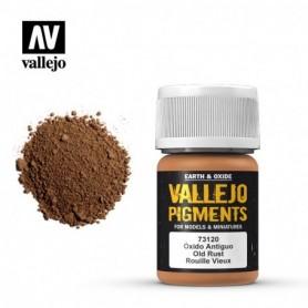 Vallejo 73120 Pigment 120 Old Rust 35ml