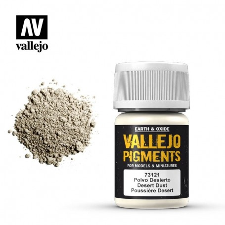 Vallejo 73121 Pigment 121 Desert Dust 35ml