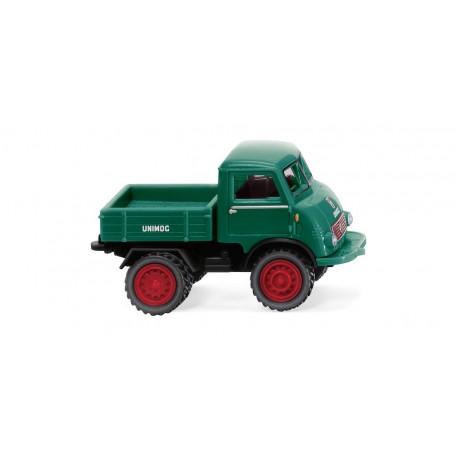 Wiking 36803 Unimog U 401 - twin tyres - moss green