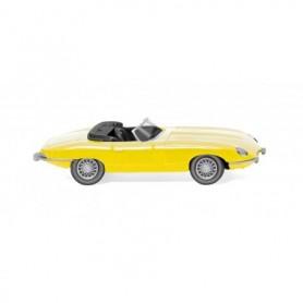Wiking 81706 Jaguar E-Type Roadster – yellow