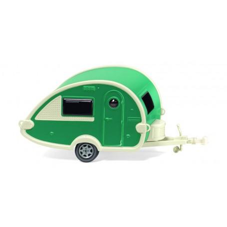 Wiking 09238 Caravan (T@B) ? green pearl white