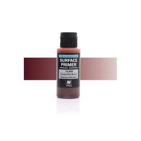 Vallejo 73605 Surface Primer 605 German Red Brown 60ml