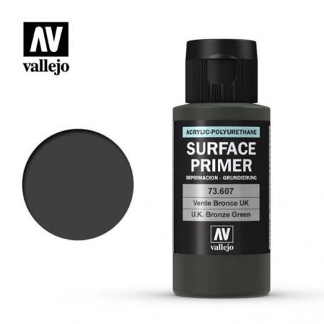 Vallejo 73607 Surface Primer 607 UK Bronze Green 60ml