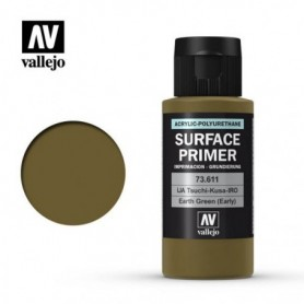Vallejo 73611 Surface Primer 611 Earth Green (Early) 60ml