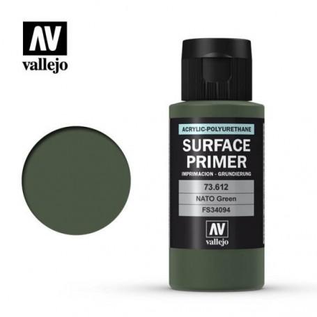 Vallejo 73612 Surface Primer 612 Nato Green 60ml