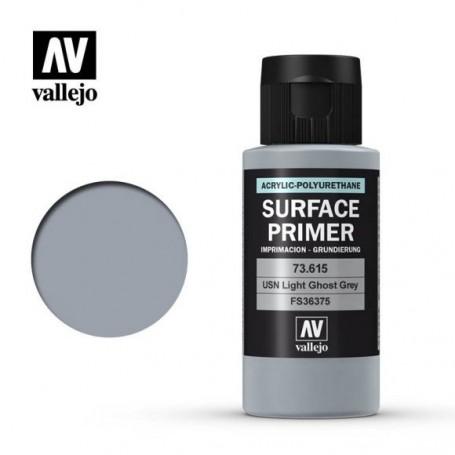 Vallejo 73615 Surface Primer 615 USN Light Ghost Grey 60ml