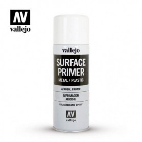 Vallejo 28010 Spray Surface Primer White 400 ml