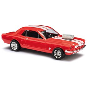 "Busch 47575 Ford Mustang 1964 ""Muscle Car"""