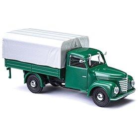 Busch 52350 Lastbil Framo V901/2 med kapell, grön