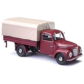 Busch 52351 Lastbil Framo V901/2 med kapell, bordeaux rouge