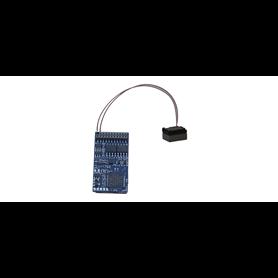 """ESU 58419 Ljuddekoder Loksound 5 DCC/MM/SX/M4 """"Välj ditt eget ljud"""" 21-pins med högtalare"""