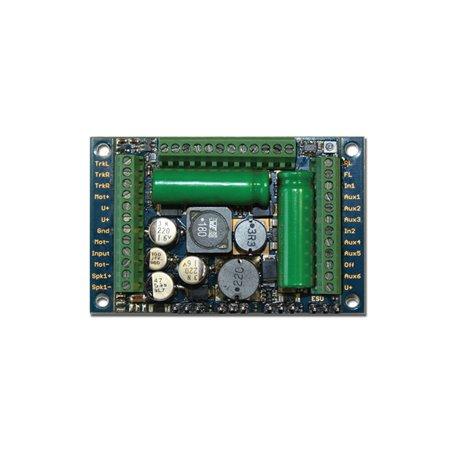 """ESU 58513 LokSound 5 XL DCC/MM/SX/M4 """"blank decoder"""", Screw Terminals, gauge: G, I"""