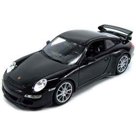 Welly 18024 Porsche 911 (997) GT3 2008, svart
