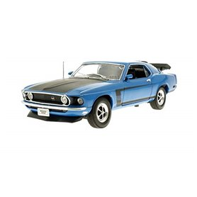 Welly 18002B Ford Mustang Boss 302 1970, blå