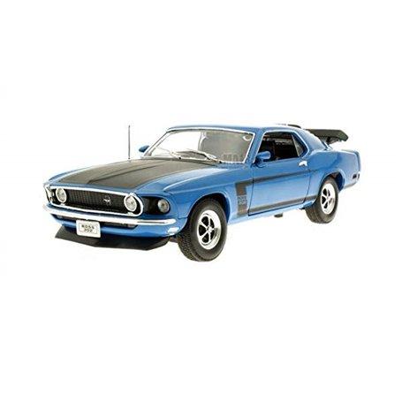 Welly 18002B Ford Mustang Boss 302 1970, blå