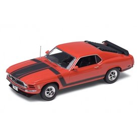 Welly 18002R Ford Mustang Boss 302 1970, röd
