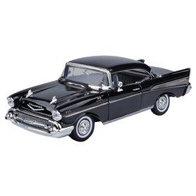 Motormax 73180 Chevrolet Bel Air 1957 svart