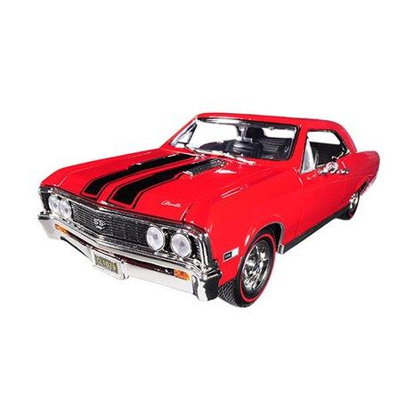 Motormax 73104 Chevrolet Chevelle SS 396 1967, röd/svart