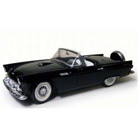 Motormax 73173 Ford Thunderbird Convertible 1956, svart