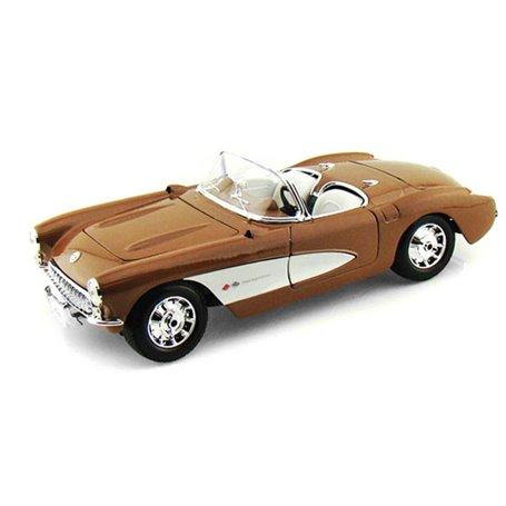 """Maisto 31139 Chevrolet Corvette 1957 """"Special Edition"""", brons"""