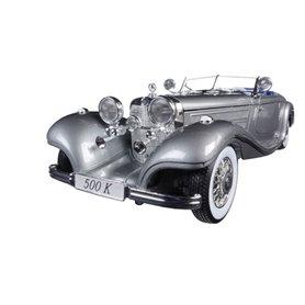 "Maisto 36862 Mercedes Benz 500K Special Roadster 1936 ""Premiere Edition, silver"