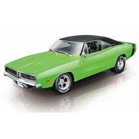 Maisto 32612 Dodge Charger R/T 1969, grön/svart