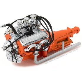 Greenlight 12977 Custom Ford hot rod engine with transmission, 1932