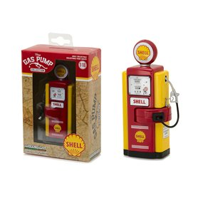 "Greenlight 14010B Bensinpump 1948 Wayne 100-A Shell Gas ""Vintage Gas Pump"""