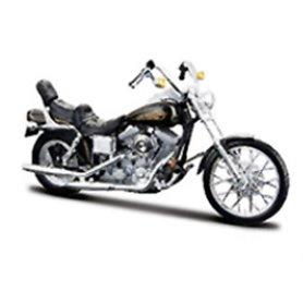 Maisto 31360-1 Motorcykel Harley Davidson 1997 FXDWG Dyna Wide Glide