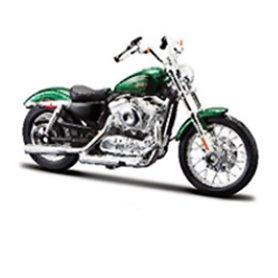 Maisto 31360-3 Motorcykel Harley Davidson 2012 XL 1200V Seventy-Two