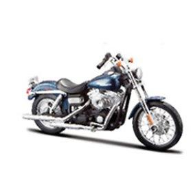 Maisto 31360-6 Motorcykel Harley Davidson 2006 FXDBI Dyna Street Bob