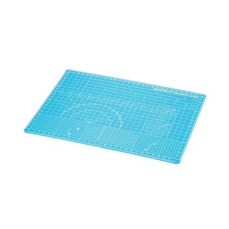 Tamiya 74149 Skärmatta, cutting mat, (A4) blå