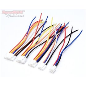 DynoMax B9405 Balanskontakt Set TP Hona (stift) med kabel 2-6S