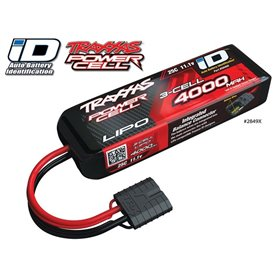 Traxxas 2849X Li-Po Batteri 3S 11,1V 4000mAh 25C iD-kontakt