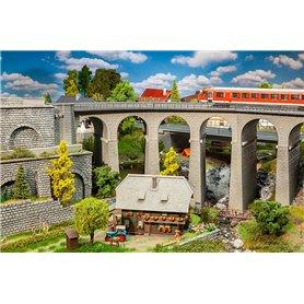Faller 120466 Viadukt, 2-spårs, kurva