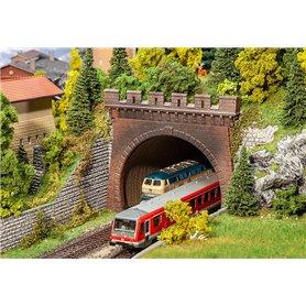 Faller 120570 Tunnelportaler, 2 st, 2-spårs