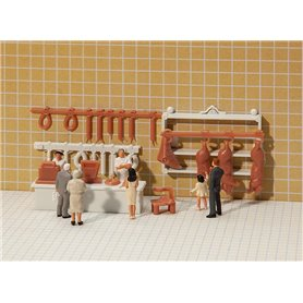 Faller 180974 Butcher's shop interior decoration