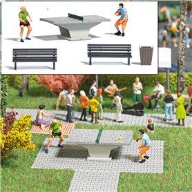 Busch 7843 Table Tennis