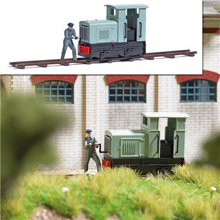 Busch 7849 Narrow Gauge Locomotive with Locomotive Engineer