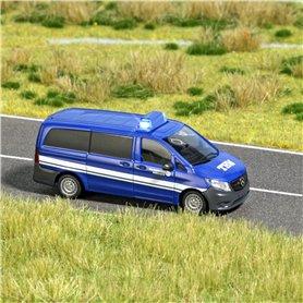 """Busch 5591 Mercedes Benz Vito """"THW"""" med belysning, med kabel, 14-16V DC eller AC"""