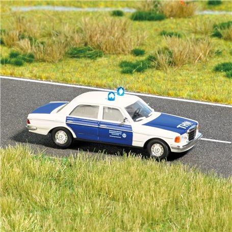"""Busch 5592 Mercedes-Benz W123 """"THW"""" med belysning, med kabel, 14-16V DC eller AC"""