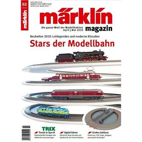Märklin 331035 Märklin Magazin 2/2019 Tyska