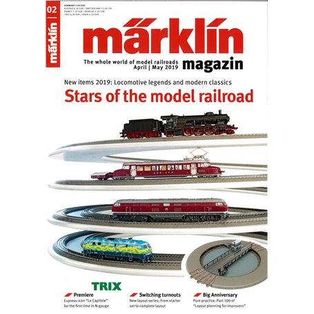 Märklin 331036 Märklin Magazin 2/2019 Engelska