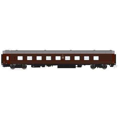 HNoll HN.1112DC Liggvagn BC4R 5434 SJ Brun